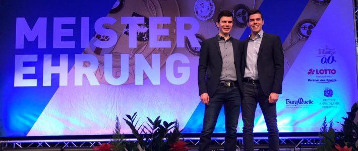LSB Meisterehrung und RVR-Pokal 1